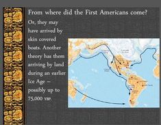"""A 20 slide Power Point describing the arrival of the first Americans from other continents and the changes as their cultures evolved.  The Olmec, Chavin, and Moche cultures are described and the reason they are called """"Mother Cultures"""" is explained.  An excellent resource to introduce or review the very early Americans."""