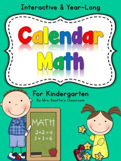Carpet Time. Calendar Time. Calendar Math. Whatever you call it, this product from Mrs. Beattie's Classroom is a perfect and complete resource for your entire Kindergarten & First Grade calendar program with enough material to last you for a whole year, and for years to come! (Upper levels, French and Australian Editions also available!) This covers patterning, number sense and more!