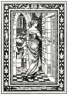 She paused before unlocking the door. Joseph E. Southall, from The story of Blue…