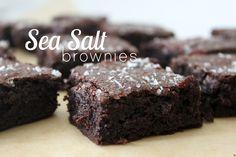 sea salt brownies