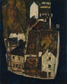 Egon Schiele - Dead City III