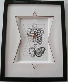 les dessins de Loic n°4 - Artisanat ©2014 par Mad -                                            Autre, Fantaisie, dessin de Loic n° 4 Frame It, Frame Shop, Art Nouveau, Loic, Art Original, Drawing, Oeuvre D'art, Shadow Box, Custom Framing