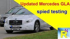Read Newspaper - Updated Mercedes GLA Spied Testing