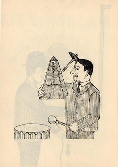 Les Rétro-Galeries de Mr Gutsy: Roland Topor - Les Masochistes - 1960 Plus