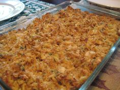 Chesapeake Bay Blue Crab Casserole