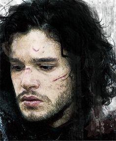 Jon Snow by Martaxrodriguez.deviantart.com on @deviantART