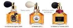 This website is about a man's admiration for the famous French perfume house of Guerlain.