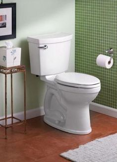 Water-Saving American Standard Toilet Won't Clog | The Money Pit