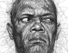 """""""Faces"""" is a series of celebrity portraits made of seemingly random scribbles, created by Malaysian illustrator Vince Low. via Designlov Vince Low's website Face Illustration, Illustrations, Portrait Illustration, Art Photography Portrait, Celebrity Portraits, Celebrity Faces, What Is Digital, Behance, Collaborative Art"""