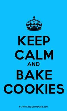 [Crown] Keep Calm And Bake Cookies