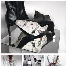 Schein und Sein – Marlene Schaumberger Gabriel, Boots, Heels, Fashion, Flamingo, Ballet, Crotch Boots, Heel, Moda