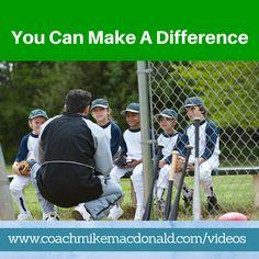 You can Make A difference http://coachmikemacdonald.com/you-can-make-a-difference/ #leadership #successtips #motivation #Mondaymotivation