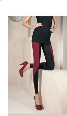 trend two toned leggings