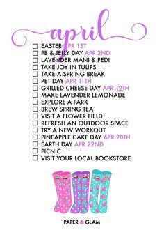 17 Ways to Celebrate April! A monthly seasonal living list helps us celebrate each season of the year and find joy in everyday! An ordinary day in our common ca