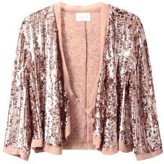 East Sequin Cardigan, Gold (€82) ❤ liked on Polyvore featuring tops, cardigans, gold sequin top, gold cardigan, gold top, glitter cardigan and red sequin top