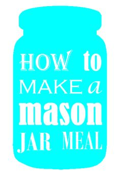 a mason jar meal (my 6th PFB challenge)   The Decorated Cookie