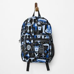 Fishing Backpack, Gone Fishing, Different Styles, Clutches, Shells, Backpacks, Handbags, Printed, Awesome