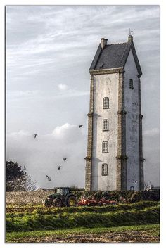 Le phare de Lanvaon