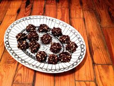 """""""Healthier"""" No-Bake Cookies (Gluten-Free and Dairy-Free)"""