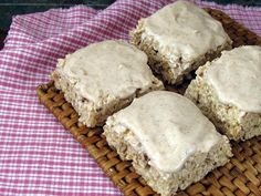 Snickerdoodle Rice Krispie Treats A fellow blogging friend, Mike from made by mike, is the brains behind this delicious idea. I enjoy Mike's blog - his writing, his beautiful photos, and the recip...