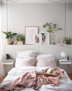Home Interior Art .Home Interior Art Cozy Bedroom, Bedroom Decor, Bedroom Ideas, Bedroom Wall, Pink Bedroom Design, Bedroom Colours, White Bedroom, Master Bedroom, Deco Rose