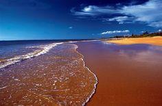 Praia de Manguinhos, em Serra.Espírito Santo