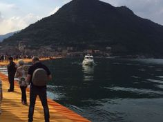 The Floating Piers #giruland #diariodiviaggio #community #raccontare #scoprire #condividere #travel #blog #food #trip #social #network #panorama #fotografia #iseo #lombardia