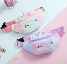 Cute Crossbody Bags, Girls Winter Fashion, Unicorn Fashion, Cute Unicorn, Girls Bags, Belts For Women, At Least, Coin Purse, Pouch