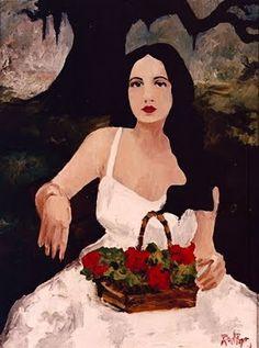 Evangeline by Rodrigue