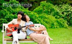 heartstrings-revival of team up jung yong hwa and park shin hye (you're beautiful) june-aug.2011 Korean drama