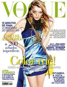 Vogue Portugal #90: Abril de 2010