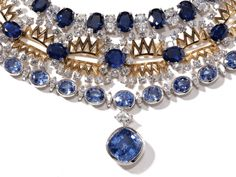 Incredible Sapphire and Diamond Necklaces