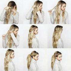 Los peinados con trenzas paso a paso más bonitos para la temporada. ¡Te verás…