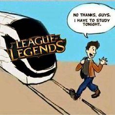 League of legends study