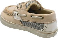 Infants/Toddlers Sperry Top-Sider Bluefish Prewalker - Linen/Oat Leather Crib Shoes