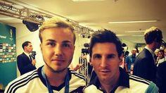 Bonaerense Info: Götze se sacó una foto con Messi