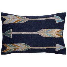 Arrow Pattern Throw Pillow   Wayfair.ca