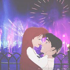 Ariel and Prince Eric | 7 Disney Couples Enjoying Date Night At Disney