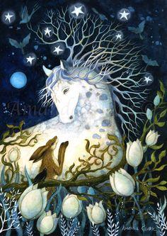 Woodland Art, Whimsical Art, Art And Illustration, Botanical Illustration, Clark Art, Fable, Fairytale Art, Beautiful Fantasy Art, Fox Art