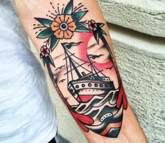 Nautical tattoo by Lollo Tattoo