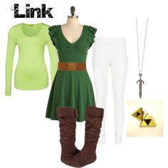A fashion look from January 2013 featuring green dress, long sleeve tops and cotton elastic waist pants. Browse and shop related looks.