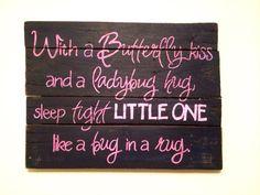 Lady Bug Nursery Decor on Etsy, $45.00