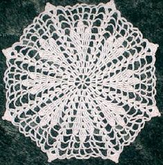 Torch Star Doily