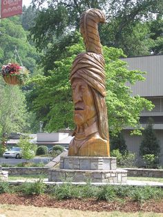 Cherokee! We passed by this in Cherokee, but didn't get to go in the museum