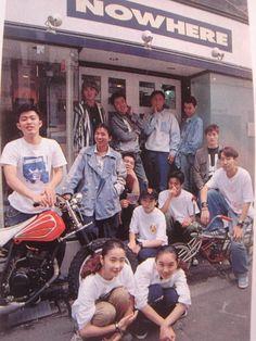 organization:    Nigo and Jonio's 1993 shop NOWHERE Vintage Street Fashion, 80s Fashion, Ootd Fashion, Aesthetic Japan, Retro Aesthetic, Nigo, Japanese Streets, Youth Culture, Japanese Fashion