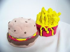 Fast food themed containers are fun to make and will happily hold your little treasures.