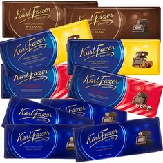 Finnish Holiday Candy is back! Choose from over 20 yummy goodies, featuring the famous Fazer chocolates! Chocolate Gifts, Chocolate Lovers, Coffee Candy, Holiday Candy, Coffee Recipes, Finland, Peppermint, Medicine, Goodies