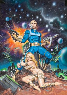 earl norem  - marvel super special nr10, star-lord, 1979
