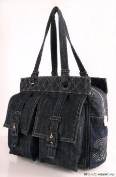 7ecfc36966ca Очередные переделки  джинсовые сумки Коко Шанель, Сумка Шанель, Джинсовые  Кошельки, Джинсовая Сумка