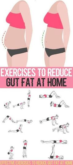 Effective Exercises to Reduce Gut Fat at Home.. hip flexor shape